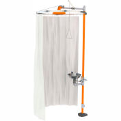 Guardian Equipment Modesty Curtain for Showers and Safety Stations, AP250-015