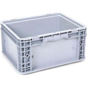"""Georg UTZ Small Load Container (SLC) 50-1512-75-0 - 15""""L x 12""""W x 7-1/2""""H, Silver Grey"""