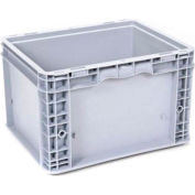 """Georg UTZ Small Load Container (SLC) 50-1512-95-0 - 15""""L x 12""""W x 9-1/2""""H, Silver Grey"""