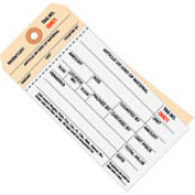 Inventory Tag 2 Part Carbonless Stub Style 2000-2499 - 500 Pack