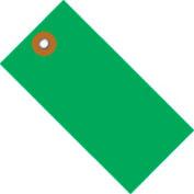 "#5 Green Tyvek Tag 4-3/4"" x 2-3/8"" - 100 Pack"