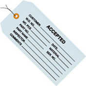 """#5 Wired Accepted Blue 4-3/4"""" x 2-3/8"""" - 1000 Pack"""