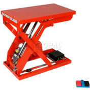 "HAMACO All-Electric Lift Table MLM-100-56V-12, 25.6"" x 19.7"", 220 Lb. Cap., SPM Motor"