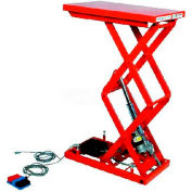 "HAMACO All-Electric Lift Table MLM-100-56WV-12, 25.6"" x 19.7"", 220 Lb. Cap., SPM Motor"