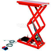 "HAMACO All-Electric Lift Table MLM-100-58WV-12 - 33.5"" x 20.5"" - 220 Lb. Cap. - SPM Motor"
