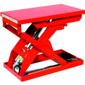 "HAMACO All-Electric Lift Table MLP-250-58, 33.5""L x 20.5""W Table, 551 Lb. Cap., IPM Motor"