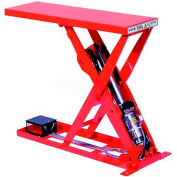 "HAMACO All-Electric Lift Table MLSB-100-2507, 27.6""L x 9.8""W Table, 220 Lb. Cap., SPM Motor"