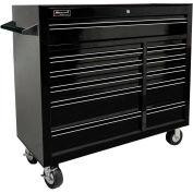 "Homak 41"" PRO SERIES 11 Drawer Rolling Cabinet - Black"
