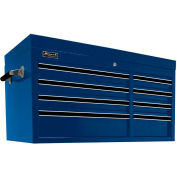 "Homak 41"" PRO SERIES 8 Drawer Top Chest - Blue"
