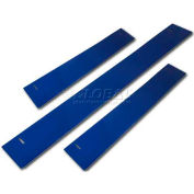 "Homak 46""W x 3""H CTS Base Shield - Blue"