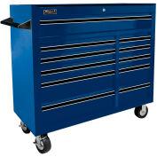"Homak 41"" PRO SERIES 11 Drawer Rolling Cabinet - Blue"