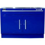 "Homak 60"" CTS 2 Door 1 Drawer Base - Blue"