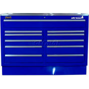 """Homak 60"""" CTS Double Bank Drawers Base - Blue"""