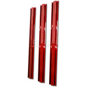 Homak CTS Canopy Support Beams - Burgundy