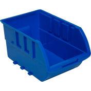 "Homak Single Large Plastic Individual Bin, HA01001595 No Logo, 7-7/8""W x 13-1/8""D x 6-1/8""H, Yellow"