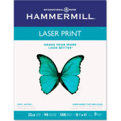 "Laser Copy Paper - Hammermill 104646 - 8-1/2"" x 11"" - 32 lbs. - 500 Sheets"