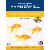 Multipurpose Paper - Hammermill Premium HAM106310 - White - 8-1/2 x 11 - 5000 Sheets/Carton