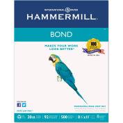 "Hammermill® Multipurpose Bond Paper 118315, 8-1/2"" x 11"", White, 500 Sheets/Ream"