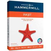 "Hammermill® Inkjet Paper, 8-1/2"" x 11"", 24 lb, White, 500 Sheets/Ream"