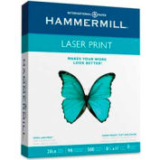 "Laser Paper - Hammermill® 125534 - 8-1/2"" x 11"" - 28 lb - White - 500 Sheets/Ream"