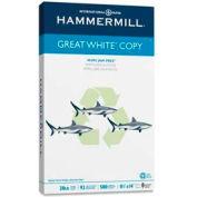 Copy Paper - Hammermill Great White HAM86704 - White - 8-1/2 x 14 - 20 lb. - 500 Sheets/Ream