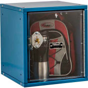 Hallowell HC121212 Cubix Modular Locker, w/built-in key lock, 12x12x12, Safety-View Door, Blue
