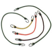 "18"" 9mm Hook Bungie Cord - Package of 10"