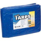 16' x 20' Light Duty 2.9 oz. Tarp, Blue - B16x20