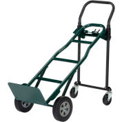 Harper™ JDCSA8543 4-in-1 Convertible Hand Truck with Solid Rubber Wheels - 700 Lb. Capacity