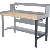 "Hallowell Workbench Adjustable Leg, 36""D"