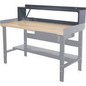 """Hallowell Workbench Riser, 60""""W x 10""""D x 12""""H"""