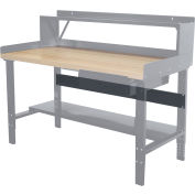 "Hallowell Workbench Stringer, 60""W x 5""H"