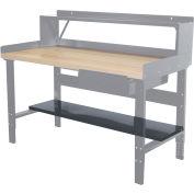 """Hallowell Workbench Lower Shelf, 60""""W x 12""""D"""