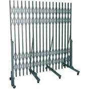 Superior Heavy-Duty Portable Gate - 7' to 12' Openings