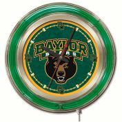 "Baylor University Double Neon Ring 15"" Dia. Logo Clock"