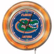 "University of Florida Double Neon Ring 15"" Dia. Logo Clock"