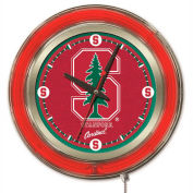 "Stanford University Double Neon Ring 15"" Dia. Logo Clock"
