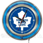 "Toronto Maple Leafs® Double Neon Ring 15"" Dia. Logo Clock"