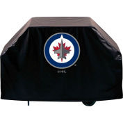 """Holland Bar Stool, Grill Cover, Winnipeg Jets, 60""""L x 21""""W x 36""""H"""