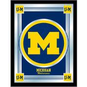 "University of Michigan Logo Mirror 17""W x 22""H"