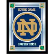"""Notre Dame (Leprechaun) Logo Mirror 17""""W x 22""""H"""