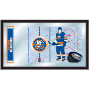 "New York Islanders® Hockey Rink Mirror 15""H x 26""W"