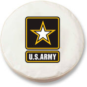 United States Army White Tire Cover-TCLGARMYWT