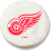 Detroit Red Wings White Tire Cover-TCLGDETREDWT