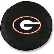 University of Georgia G logo Black Tire Cover-TCLGGA-GBK
