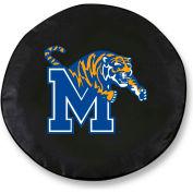 University of Memphis Black Tire Cover-TCLGMEMPHSBK