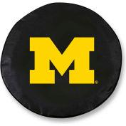 University of Michigan Black Tire Cover-TCLGMICHUNBK