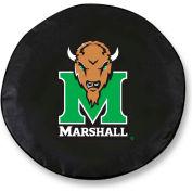 Marshall University Black Tire Cover-TCLGMRSHLLBK