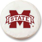 Mississippi State University Black Tire Cover-TCLGMSSSTUBK
