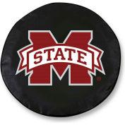 University of Mississippi Black Tire Cover-TCLGMSSPPUBK